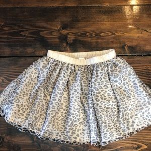 *3/$15* Gymboree cheetah skirt size 7